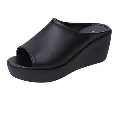 b25d4b54766085 Damen Keilabsatz Schuhe