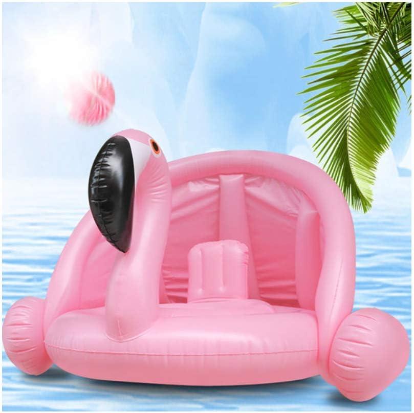 Círculo Inflable Bebé Flamingo Flotador Anillo de natación Unicornio Inflable Flotador de Piscina Asiento Infantil Aire Agua Juguetes