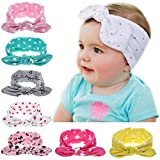 Itaar Baby Girls Headbands Set Turban Knotted Hairband
