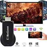 RONSHIN WiFi Display Dongle Receiver TV Dongle Mirescreen DLNA Airplay Miracast TV Stick Media Player 1080P Multi-Display