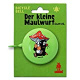 The Little Mole - Mushroom Old Fashioned Bicycle Bell - Bike Bell - green - Original Licensed Product - LOGOSHIRT