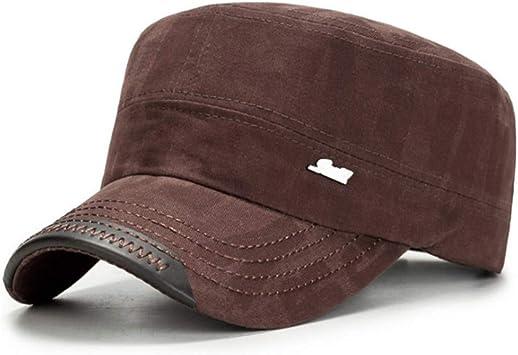 LXYSLX Sombreros Militares De Moda para Hombres Mujeres ...