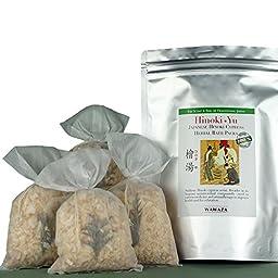 Hinoki Cypress Herbal Bath Pack (4 count)