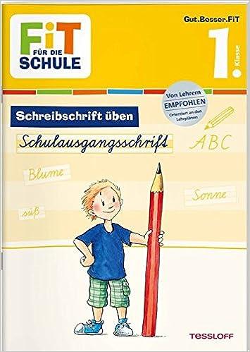 Fit Für Die Schule Deutsch Schreibschrift üben