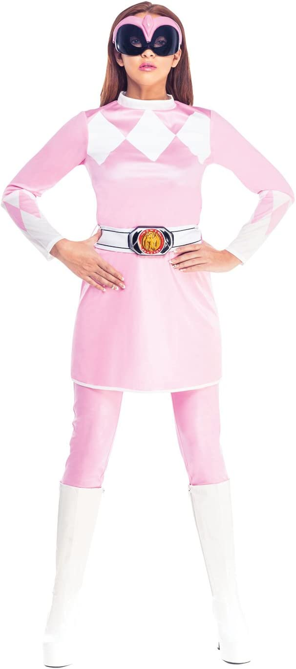 Rubies s Oficial Rosa Power Ranger Fancy Dress – Disfraz de ...