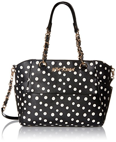 Betsey Johnson Hidden Treasure With Detachable Crossbody Satchel Bag Dot One Size Betsey Johnson Handbags Hidden Treasure Satchel Detachable