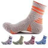 Men's 5 Pairs Athletic Cotton Outdoor Sport Mid Tube Socks for Casual Use