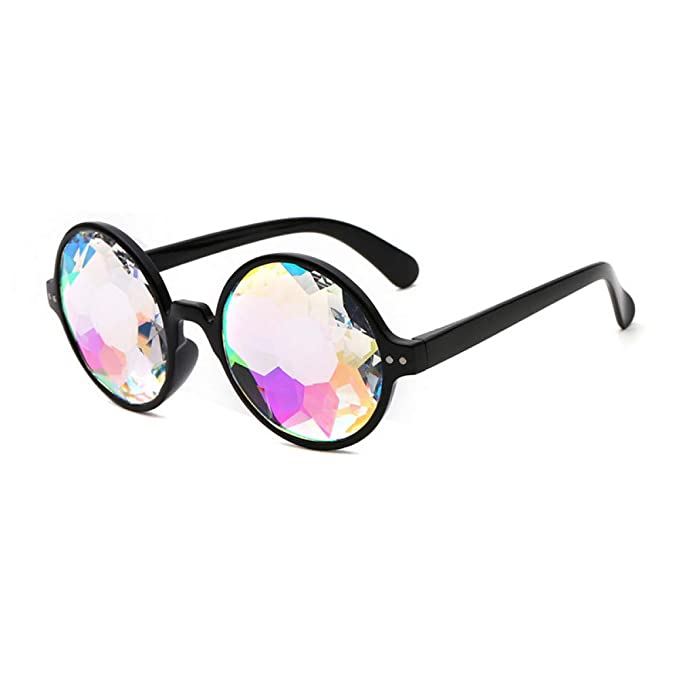 XMDNYE Gafas Redondas Caleidoscopio Gafas De Sol Hombres ...