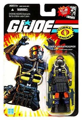 Para-Viper Cobra Paratrooper GI Joe 25th Anniversary Action Figure -