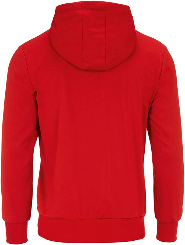 Errea Unisex Jill Long Sleeved Zip Hooded Top