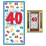 """Beistle 54702-40 """"40"""" Door Cover, 30-Inch by 5-Feet"""