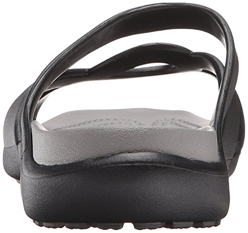 Crocs Black Meleen Twist Women's Sandal smoke wqf04wR