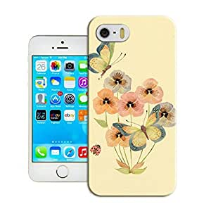 LarryToliver Customizable Flowers and birds iphone 5/5s Best Plastic Cover Case-Creative New Life
