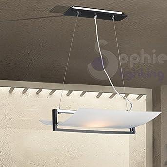 lampadario lampada sospensione 53x40 cm 2 luci design moderno ... - Soggiorno Wenge Moderno 2