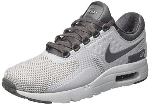 Nike Herre Air Max Nul Væsentlig Sneaker Mehrfarbig (ulv / Mørkegrå / Rent Platin / Sort) 5MZG5Z