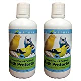 Care Free Enzymes 2-Pack Canary, Finch & Parakeet Bath Protector 94004 33.9 oz.