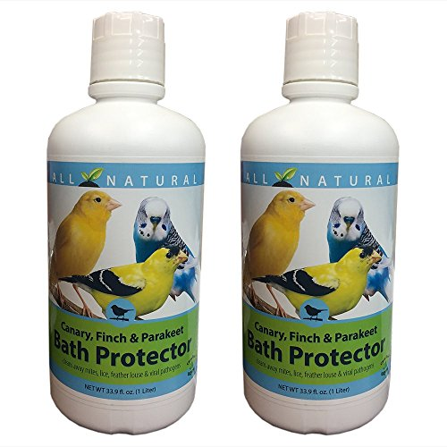 Care Free Enzymes 2-Pack Canary, Finch & Parakeet Bath Protector 94004 33.9 oz. by Care Free Enzymes