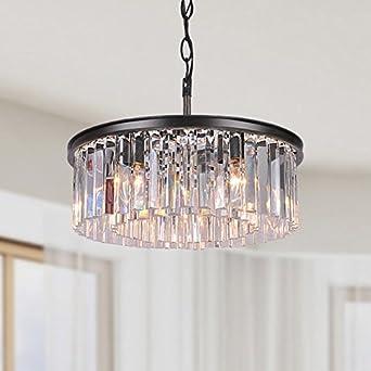 Jojospring justina 5 light antique chandelier with crystal prisms jojospring justina 5 light antique chandelier with crystal prisms amazon aloadofball Choice Image