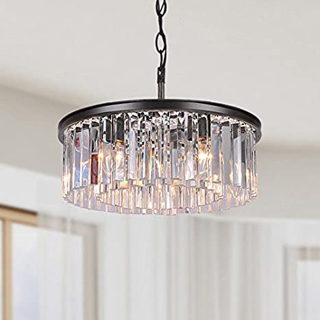Jojospring Justina 5-light Antique Chandelier with Crystal Prisms - Jojospring Justina 5-light Antique Chandelier With Crystal Prisms