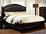Cal King Size Winsor Espresso Finish Bed Frame Set