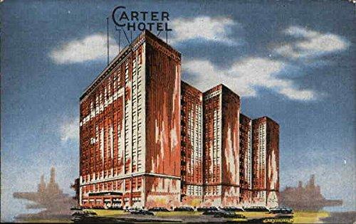 - Carter Hotel Cleveland, Ohio Original Vintage Postcard