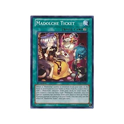Losse kaarten SAST-EN023 Madolche Petingcessoeur Rare 1st Edition Mint YuGiOh Card