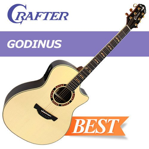 ar / SSolid Engelmann Spruce Top / Gloss Finish / Crafter Guitar / Acoustic Guitar / Musical Instrument (Gloss Top Acoustic Guitar)