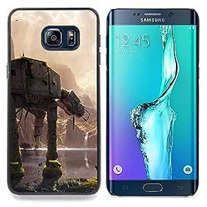 SKCASE Center / Funda Carcasa protectora - En En Batalla;;;;;;;; - Samsung Galaxy S6 Edge Plus / S6 Edge+ G928
