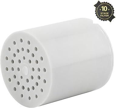 10-stage ducha filtro de agua de pozo – elimina el cloro, metales ...