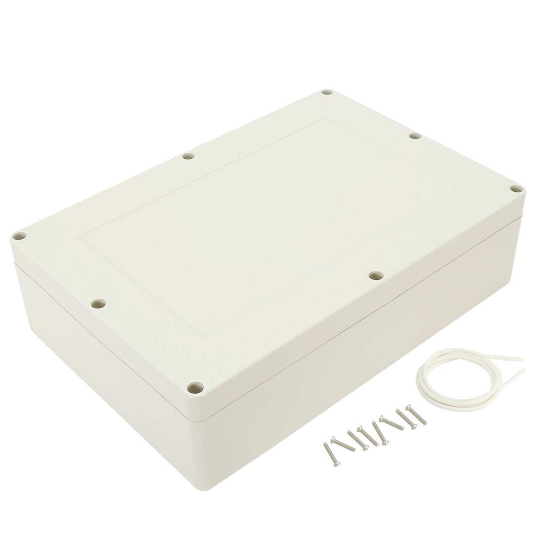 uxcell 15 inches x 10.2 inches x 4.13 inches 380mmx260mmx105mm ABS Junction Box Universal Electric Project Enclosure