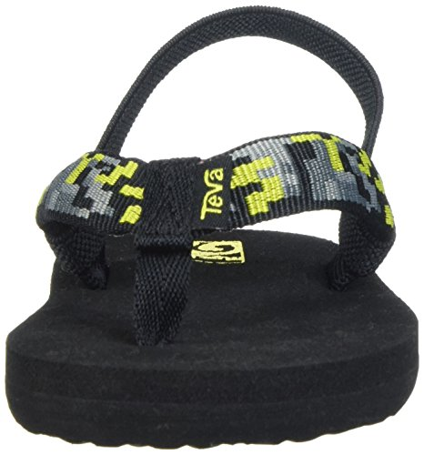 Teva Kids Mush Ii Digital Camo Nero / Sandali Lime