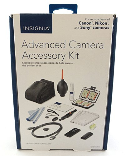 Insignia Advanced Camera Accessory Cleaning Kit For Variety of Brands NS-DCKIT10