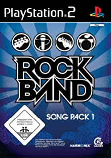 Rock Band Song Pack 1 PS2