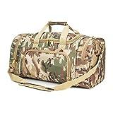 WolfWarriorX Military Tactical Duffle Bag, Large Storage Bag Luggage Duffle for Traveling, Gym, Vacation, Hiking & Trekking (OCP)