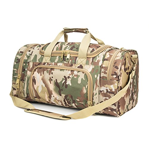 WolfWarriorX Military Tactical Duffle Bag, Large Storage Bag
