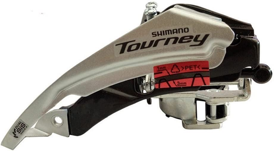 Shimano Derailleur Tourney FD-TY500 6//7 compartment Top Swing 42 Z. 63-66 °