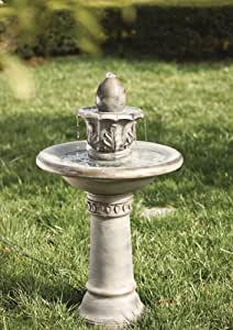 Fountain, Classic, Polystone, 19x19x34 Inches