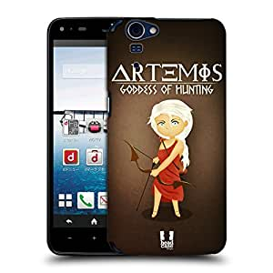 Head Case Designs Artemis Mini Greek Goddesses Protective Snap-on Hard Back Case Cover for Sharp Aquos Zeta SH-01F LTE