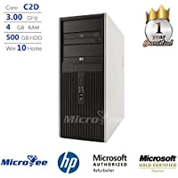 HP DC7900 Desktop C2D E8400 3.00GHz 4GB 500GB HDD DVD+RW Windows 7 Home Premium (Certified Refurbished)