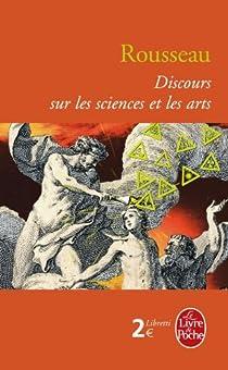 Discours sur les sciences et les arts par Rousseau