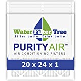 Replacement Filtrete, Nordic Pure - Filtertree High Efficiency air AC filters / Furnace filters, MERV 4, 20x24x1 inches, 5 Pack (20 X 24)