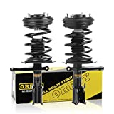OREDY Front Pair 2 Pieces Complete Quick Struts Shock Coil Spring Assembly Kit SR4060 11172 171667 Compatible with 1999 2000 2001 2002 2003 2004 Dodge Intrepid & Chrysler 300M/ Concorde/Intrepid