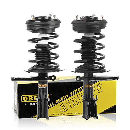 Chrysler Lhs Coil Spring - OREDY Front Pair 2Pieces Complete Struts Assembly Shock Coil Spring Assembly Kit SR4060 11172 171667 Compatible with Dodge Intrepid/Chrysler 300M/Concorde/Intrepid 1999 2000 2001 2002 2003 2004