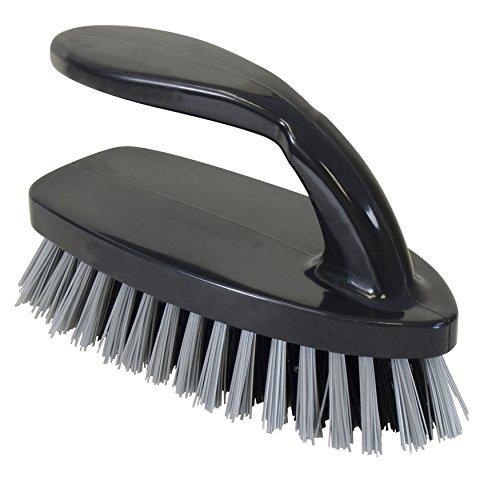 Quickie Iron-Handle All-Purpose Scrub Brush Iron Handle Scrub Brush