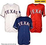 Texas Rangers Game-Used Jersey from the 2015 Season - Player's Jersey will vary - MLB Game Used Jerseys