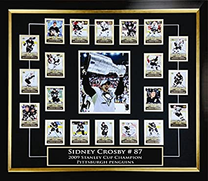 Sidney Crosby Rookie Card Set At Amazons Sports Collectibles Store