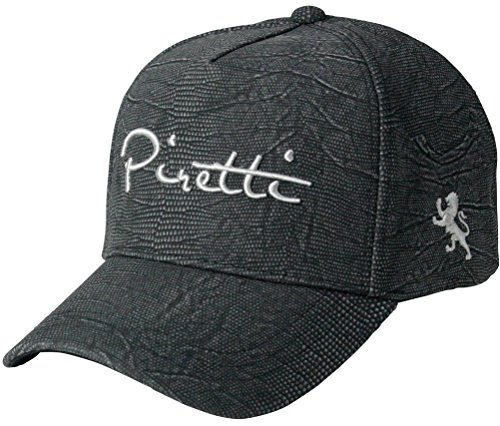 Piretti ピレッティ PR-CP0001 リザード調 パイソン柄 キャップ 帽子 ヘビ柄 スェード 限定