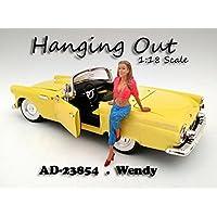 """""""Saliendo"""" Figura de Wendy para modelos a escala 1:18 por American Diorama 23854"""