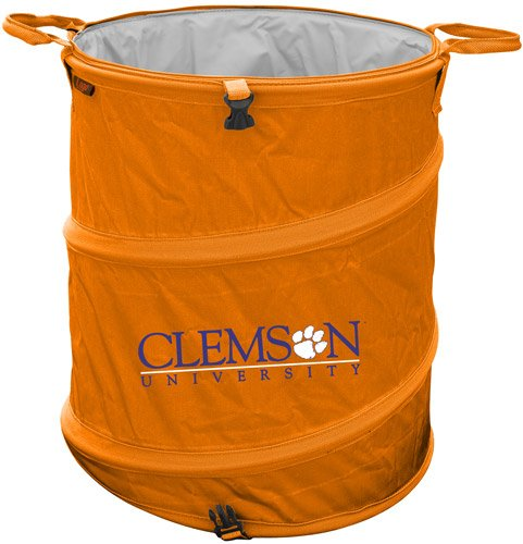 Collegiate NCAA Trash Can NCAA Team: Clemson