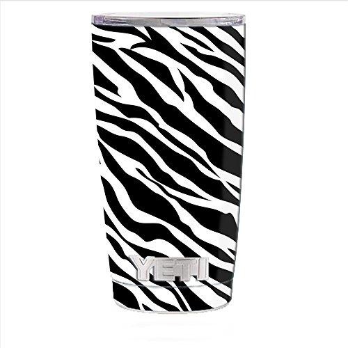 Skin Decal Vinyl Wrap for Yeti 20 oz Rambler Tumbler Cup Skins Stickers Cover / Zebra Pattern
